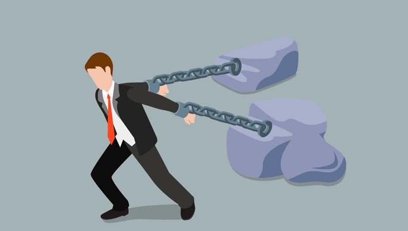din gæld kan vare forevigt
