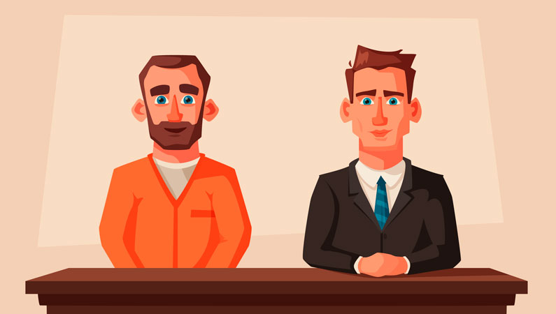Advokat i straffesag