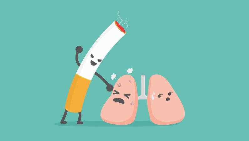 Rygning er hårdt for kroppen