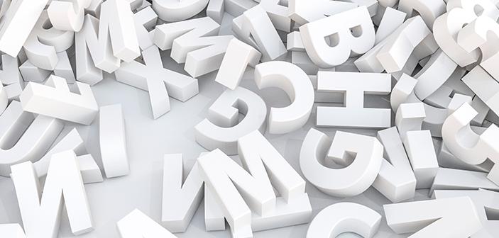 Historien om bogstaver