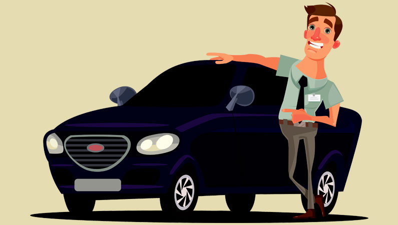 Bilbogen bilforhandler