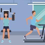 Maend-traener-i-fitness-center