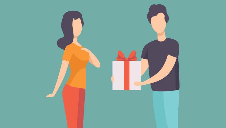 Mand-giver-vaertindegave-til-kvinde