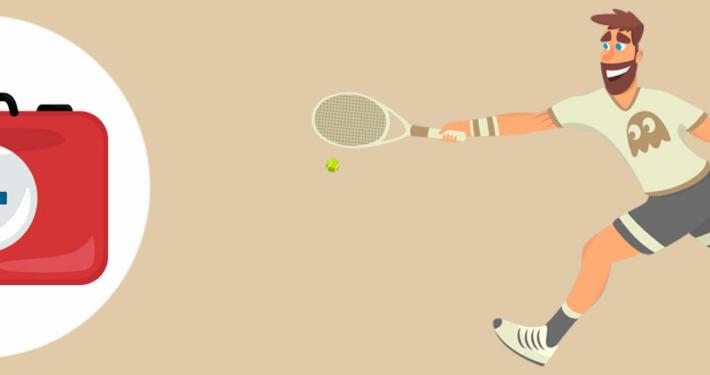Tennis skader
