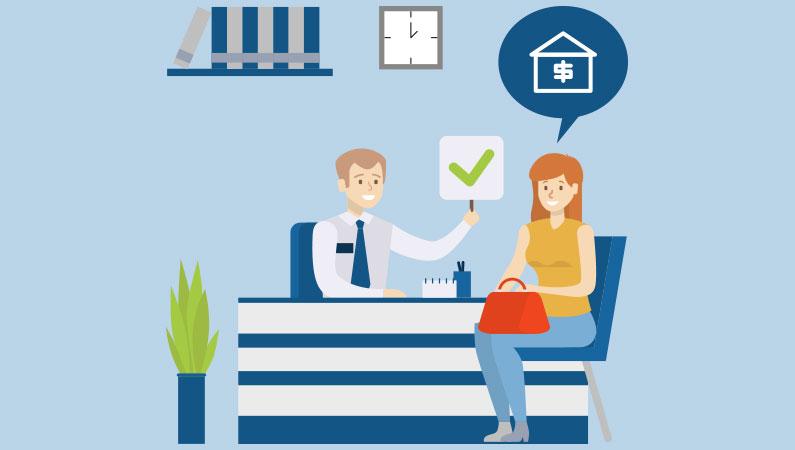 Få et lånebevis fra banken inden du køber hus