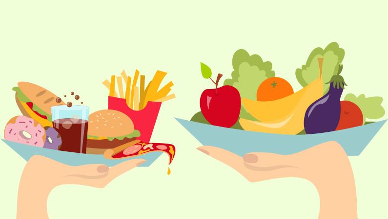 Husk at spise grøntsager