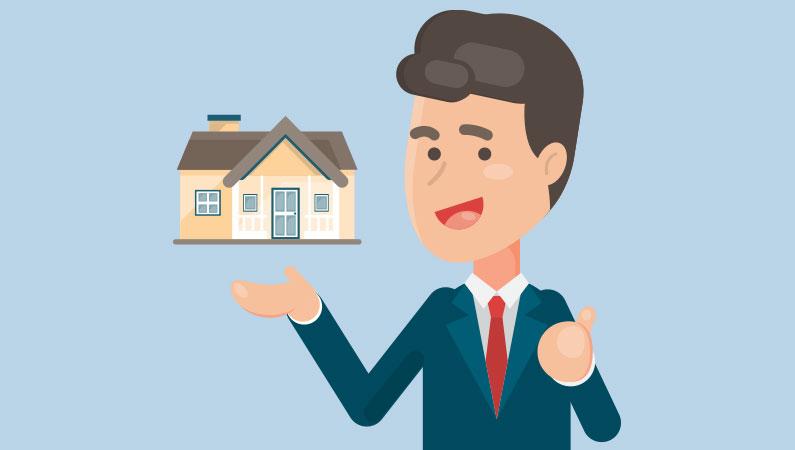 Ejendomsmægler hjælper med at finde drømmehuset inden for dit budget