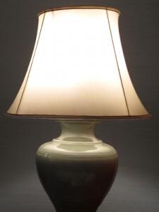 klassik maskulin lampe