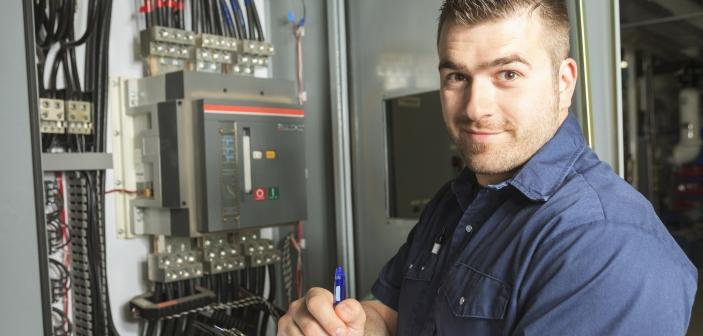 Elektrikere har meget lav arbejdsløshed
